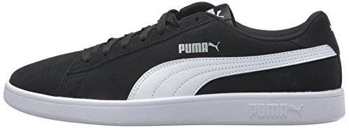 PUMA Smash V2 Chaussures de Sport pour Homme - Bleu - Blanc Peacoat, 45 EU