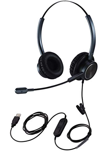 USB PC Headset for Zoom Conferencing, PC...