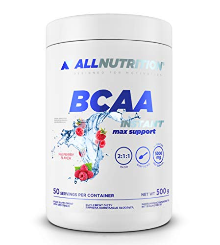 Allnutrition BCAA Max Support Instant, Raspberry, 500g