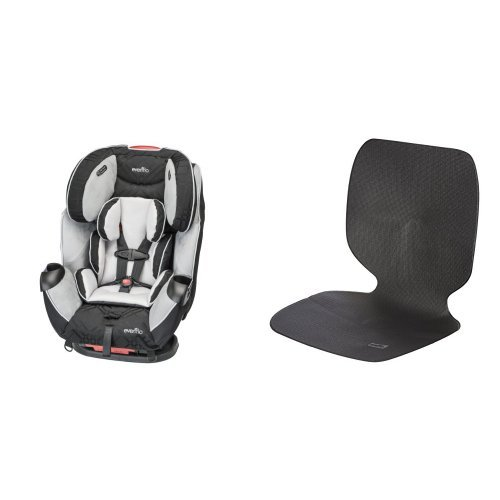Best Prices! Evenflo Symphony LX Car Seat, Crete with Car Undermat & Seat Protector