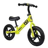 NUOVO MODELLO - La Balance Bike estremamente leggera pesa solo 3 libbre. Il telaio interamente in alluminio e i pneumatici in schiuma rendono questa bici senza pedaliera più leggere al mondo.