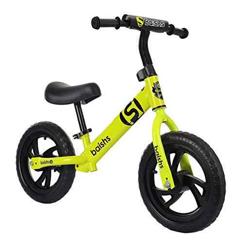 Bicicleta Sin Pedales Ultraligera - Niños 2-6 Años (Amaril