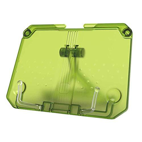Schreibtischlampe File Cabinet Datei Halter Doppel Anti-Rutsch-Gummi Tragbares Buchhalter Aktivstall Unterstützung einfache Stand-großes Geschenk