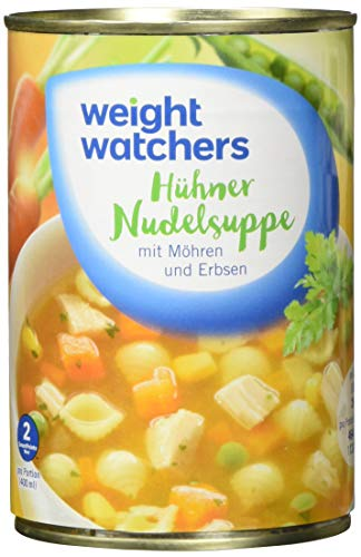 Weight Watchers Hühnernudelsuppe, Dose, 6er Pack (6 x 400 ml)