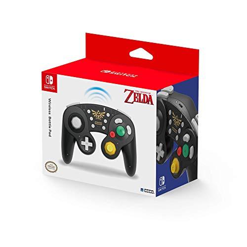 HORI - Battle Pad inalámbrico Zelda (Nintendo Switch) (Nintendo Switch)