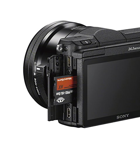 Sony a5100 16-50mm Interchangeable Lens Camera with 3-Inch Flip Up LCD (Black)
