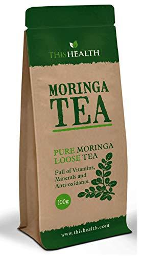 Moringa Blad Thee 100g - Premium Cut Moringa Blad Thee