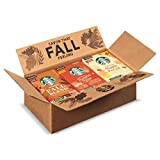Starbucks Flavored K-Cup Coffee Pods — Fall Variety Pack for Keurig Brewers — 3 boxes (30 pods total)