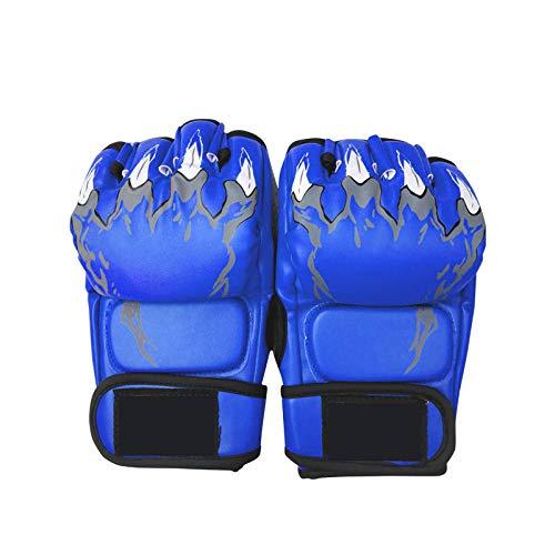 Punkte Bezieht Sich Auf Multifunktionale Boxhandschuhe Fighting Sanda Sports Protective Gear Verdickung Boxhandschuhe, Blau