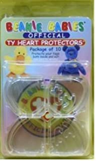 Beanie Babies Heart Protectors/Ty Tag Protectors