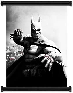 Batman: Arkham Origins Game Fabric Wall Scroll Poster (16