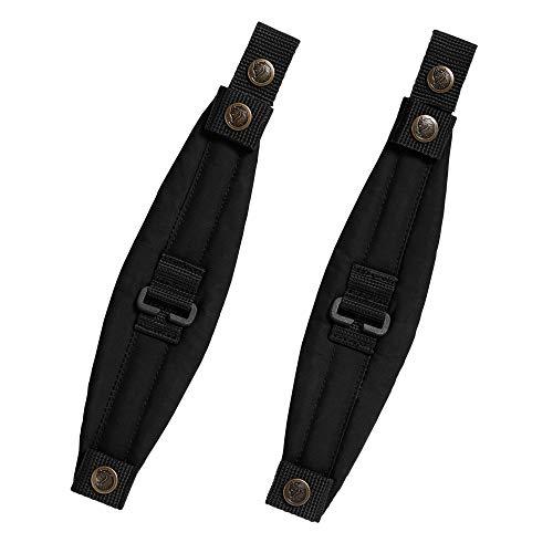 FJÄLLRÄVEN Kånken Mini Shoulder Pads Accessoires Sacs à Dos Mixte Adulte, Black, FR Unique (Taille Fabricant : OneSize)