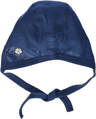 Papfar Walther Baby Mütze, Bonnet Mixte Bébé, Blau (Melange tahiti 276), 3-6 Monate (taille Fabricant: 3m)