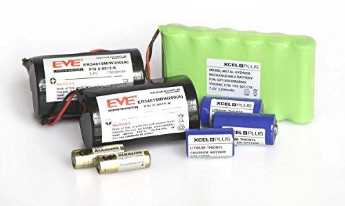 Visonic Extended Life PowerMax PRO - Batería de alarma (incluye 103-301179, 0-9912-K y sensores (completa con 1 batería de sirena)