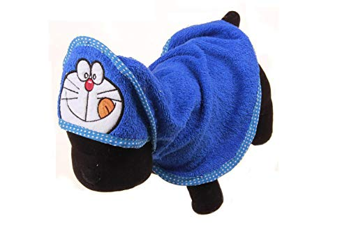 TuoTang Haustier Handtuch Hund EIN Badetuch Badetuch Pet Supplies Neuer Cartoon Teddy Handtuch,Deep Blue Viking,M