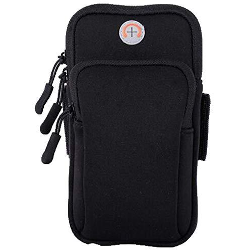 Fitness-Sport mit Handy-Arm-Tasche, Handy-Armband iphone6, 7, Handy Universal 6 Zoll Männer und Frauen Handgelenk Tasche
