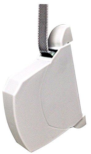 RIBER 040.004 Recogedor persiana abatible C/20mm de PVC, color blanco.