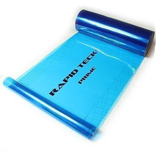 Rapid Teck 20€/m² Scheinwerfer Tönungs Blau Folie Autofolie Nebelscheinwerfer Auto 1m x 0,3m Tönungsfolie