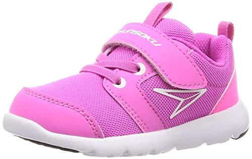 [シュンソク] スニーカー 運動靴 軽量 足育 15~22cm 2E キッズ 男の子 女の子 SKF 2310 ピンク 17.0 cm