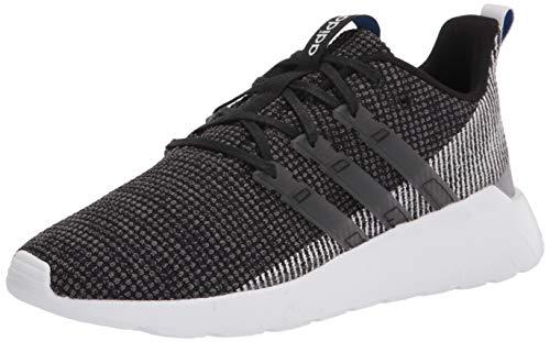adidas mens Questar Flow Sneaker Running Shoe, Black/White, 9 US