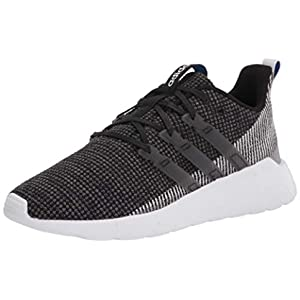adidas mens Questar Flow Sneaker Running Shoe, Black/White, 8.5 US