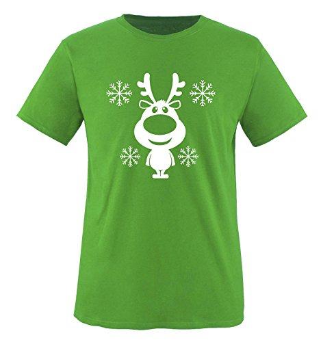Funshirts-Company - T-Shirt - Col Ras du Cou - Manches Courtes - Bébé (garçon) 0 à 24 Mois Grün/Weiss