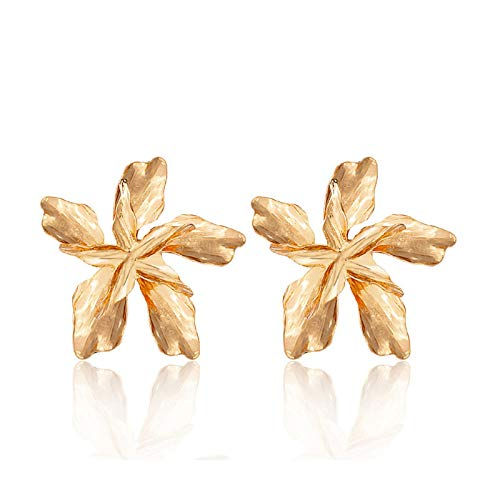 BSbattle 2020 New Gold Color Earrings For Women Multiple Trendy Round Geometric Drop Statement Earrings Fashion Party Jewelry Gift-GOLD 166