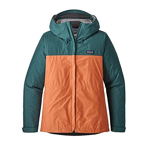 Patagonia Damen W's Torrentshell JKT Jacket, blau (Mako Blue), XL