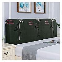 寝室用ストレッチベッドヘッドボードカバー洗える取り外し可能なベッドヘッドプロテクターの装飾 (Color : B, Size : 190cm)