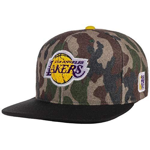 Mitchell & Ness Gorras LA Lakers Flannel Camo/Black Snapback