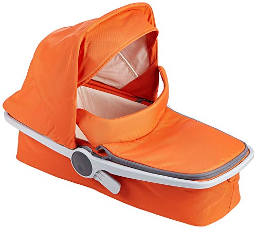 Greentom A+B+C Grey-Orange-V16 Poussette avec nacelle mixte adulte