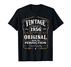Vintage Made In One of a Kind Limited Edition Perfectly Aged Birthday Tee. The original licensed Aged to Perfection birthday gift shirts. Search our brand for any year. Lightweight, Classic fit, Double-needle sleeve and bottom hem
