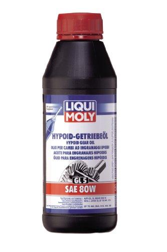 Liqui Moly 1402 Aceite para Engranajes Hipoides, GL5, SAE 80W, 500 ml