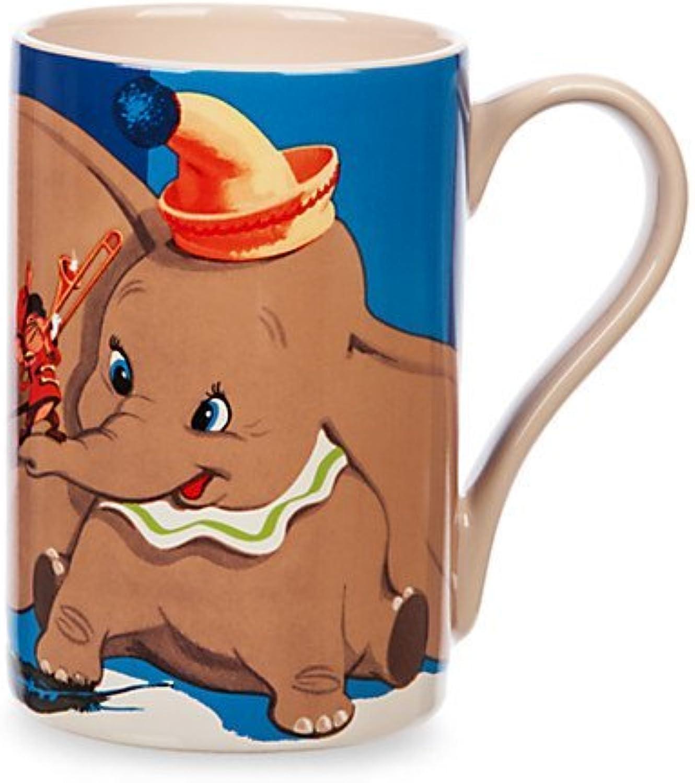 Disney Store Dumbo and Timothy Mouse Record Cover Mug Coffee Mug 16 oz