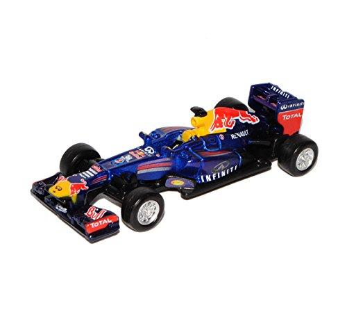 Bburago Mark Webber RB9 Infiniti Red Bull Racing Team Formel 1 Weltmeister 2013 1/64 Modell Auto