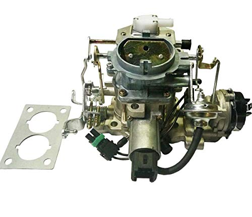 Carburetor 2 barrel Replacement C2BBD With Electric Feedback For Jeep Wrangler J10 Scrambler Carter Style With Electronic Stepper Motor Dodge 258 318 273 4.2L