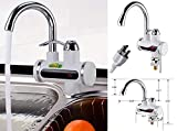 Volbit 110V 3sec Instant Tankless Electric Hot Water Heater Faucet Kitchen Fast Heating
