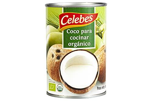 LECHE DE COCO BIO PARA COCINAR 6 UD x 400 ml ABREFACIL