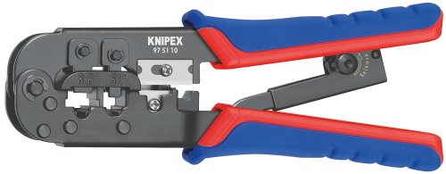 KNIPEX 97 51 10 SB Alicate entallar terminales Western