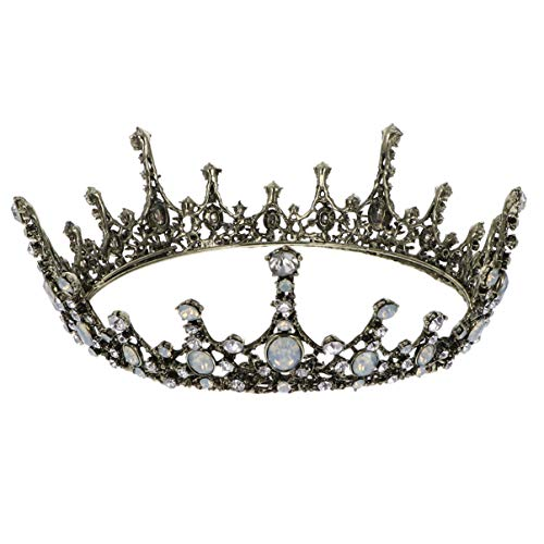 FRCOLOR Corona de Tiara de Reina Barroca Coronas de Reina de Tiara...