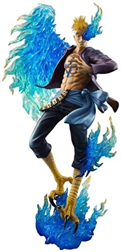 UUSOUQ Toys One Piece Retrato de Piratas: Marco Le...