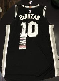 Demar Derozan Autographed Signed Authentic San Antonio Spurs Jersey JSA Raptors