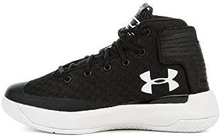 1295999-001 : Kids Curry 3Zero Sneaker Black/White (2.5 Little Kid M)