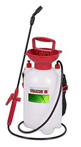 KREATOR KRTGR6805 KRTGR6805-Sulfatadora a presión 5l, Marrón, 5 Liter