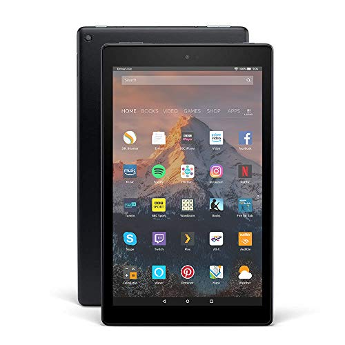 Fire HD 10 Tablet, 1080p Full HD Display, 64 GB, Black—with Special Offers (Previous Generation - 7th)
