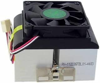 AVC AMD XP Socket A 462 370 Copper Core Heatsink & Fan CPU Cooler