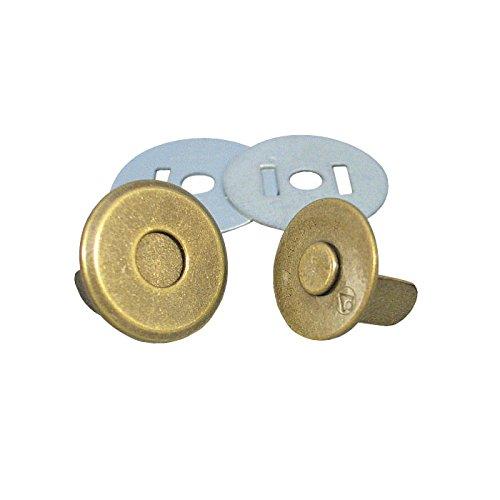 ジャスミン 薄型マグネットボタン 3mmxφ14mm 5個 [33] M1014-AG