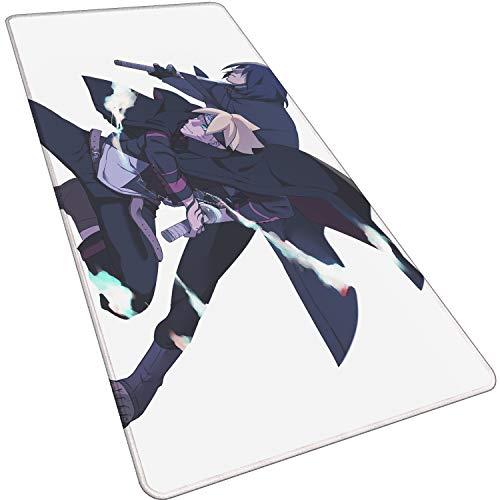 Grande 800X300X3mm XL,Ninja Hero-A Alfombrilla de ratón de Oficina Alfombra para ratón Gaming Teclado Ordenador Anime cojín para el Escritorio para Tablet Ordenador portátil