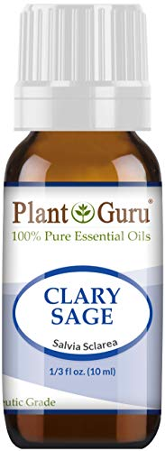 Clary Sage Essential Oil 10 ml 100% Pure Undiluted Therapeutic Grade.