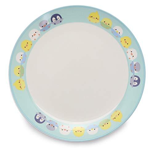 マザーガーデン こぴよフレンズ 平皿 プレート 《手つなぎ柄》 子供食器 プレート皿